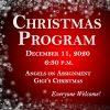 Christmas Program 2020